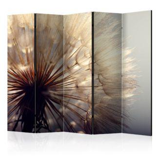 Paraván Dandelion Kiss Dekorhome 225x172 cm (5-dílný)