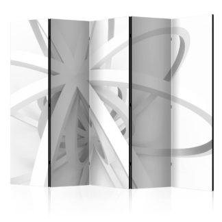 Paraván Openwork form Dekorhome 225x172 cm (5-dílný)