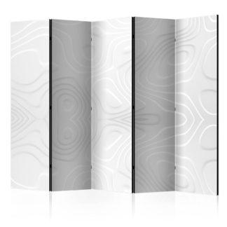 Paraván White waves Dekorhome 225x172 cm (5-dílný)