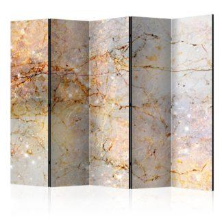 Paraván Enchanted in Marble Dekorhome 225x172 cm (5-dílný)