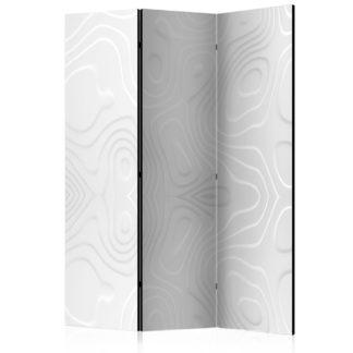 Paraván White waves Dekorhome 135x172 cm (3-dílný)