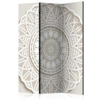 Paraván Mandala 3D Dekorhome 135x172 cm (3-dílný)