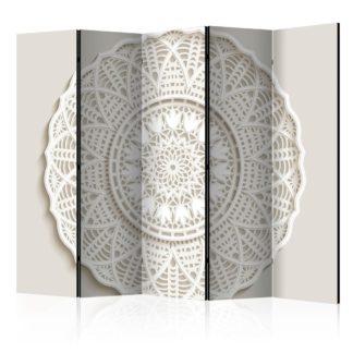 Paraván Mandala 3D Dekorhome 225x172 cm (5-dílný)