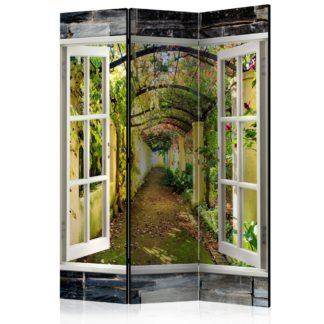 Paraván Secret Garden Dekorhome 135x172 cm (3-dílný)