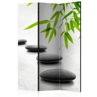 Paraván Zen Stones Dekorhome 135x172 cm (3-dílný)