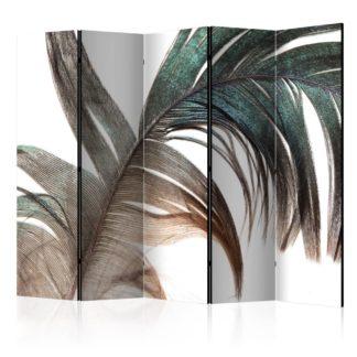 Paraván Beautiful Feather Dekorhome 225x172 cm (5-dílný)