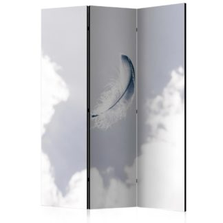 Paraván Angelic Feather Dekorhome 135x172 cm (3-dílný)