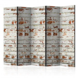 Paraván Brick Story Dekorhome 225x172 cm (5-dílný)