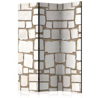 Paraván Stone Riddle Dekorhome 135x172 cm (3-dílný)