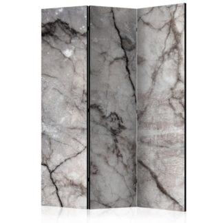 Paraván Grey Marble Dekorhome 135x172 cm (3-dílný)