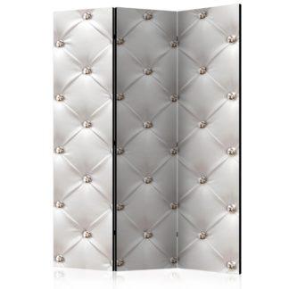 Paraván White Elegance Dekorhome 135x172 cm (3-dílný)