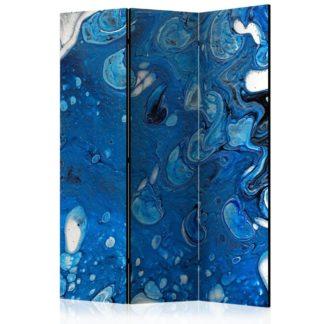 Paraván Blue Stream Dekorhome 135x172 cm (3-dílný)