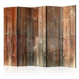 Paraván Forest Cottage Dekorhome 225x172 cm (5-dílný)