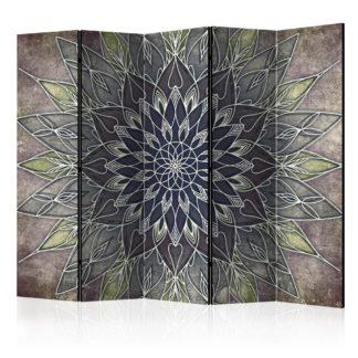 Paraván Imperial Pattern Dekorhome 225x172 cm (5-dílný)