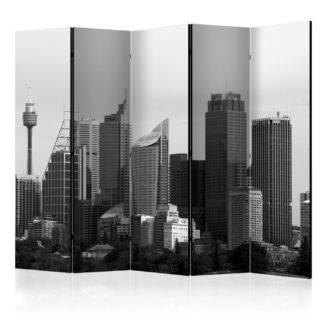 Paraván Skyscrapers in Sydney Dekorhome 225x172 cm (5-dílný)