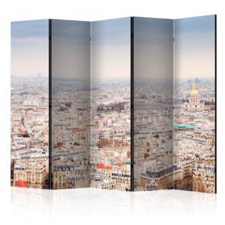 Paraván Paris Streets Dekorhome 225x172 cm (5-dílný)