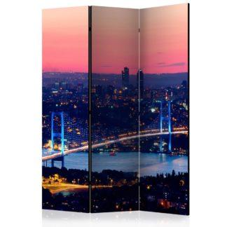 Paraván Bosphorus Bridge Dekorhome 135x172 cm (3-dílný)