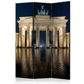 Paraván Berlin at Night Dekorhome 135x172 cm (3-dílný)