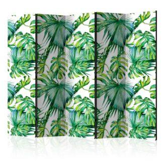 Paraván Jungle Leaves Dekorhome 225x172 cm (5-dílný)