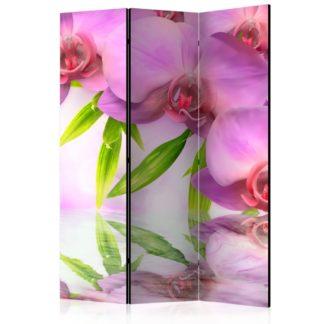 Paraván Orchid Spa Dekorhome 135x172 cm (3-dílný)