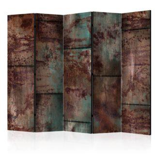 Paraván Dark Metal Sheet Dekorhome 225x172 cm (5-dílný)
