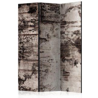 Paraván Burnt Wood Dekorhome 135x172 cm (3-dílný)