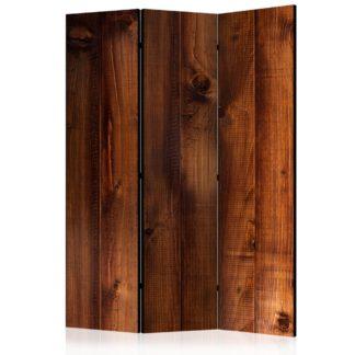 Paraván Pine Board Dekorhome 135x172 cm (3-dílný)
