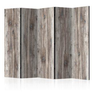 Paraván Stylish Wood Dekorhome 225x172 cm (5-dílný)