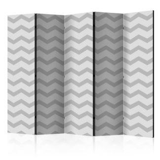 Paraván Brain waves Dekorhome 225x172 cm (5-dílný)