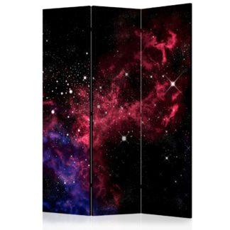 Paraván space - stars Dekorhome 135x172 cm (3-dílný)