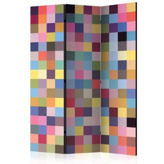 Paraván Full range of colors Dekorhome 135x172 cm (3-dílný)