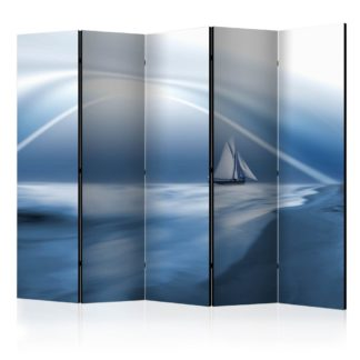 Paraván Lonely sail drifting Dekorhome 225x172 cm (5-dílný)