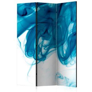 Paraván Blue smoke Dekorhome 135x172 cm (3-dílný)