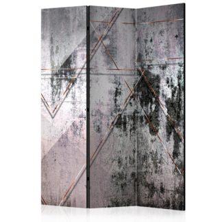 Paraván Geometric Wall Dekorhome 135x172 cm (3-dílný)