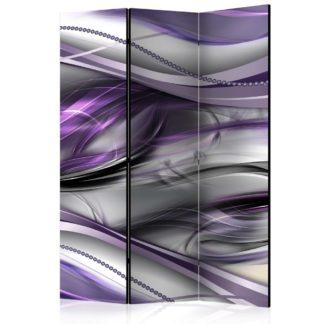 Paraván Tunnels (Violet) Dekorhome 135x172 cm (3-dílný)