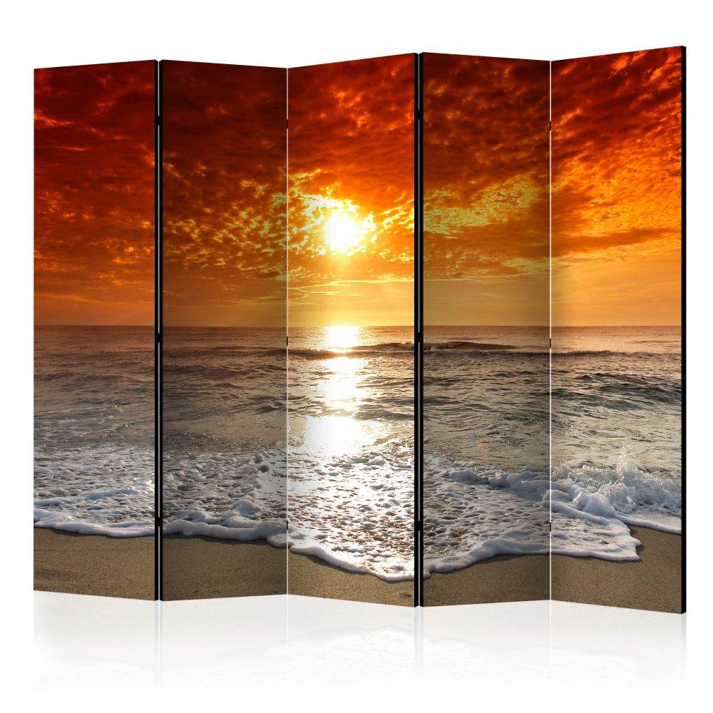 Paraván Marvelous sunset Dekorhome 225x172 cm (5-dílný)