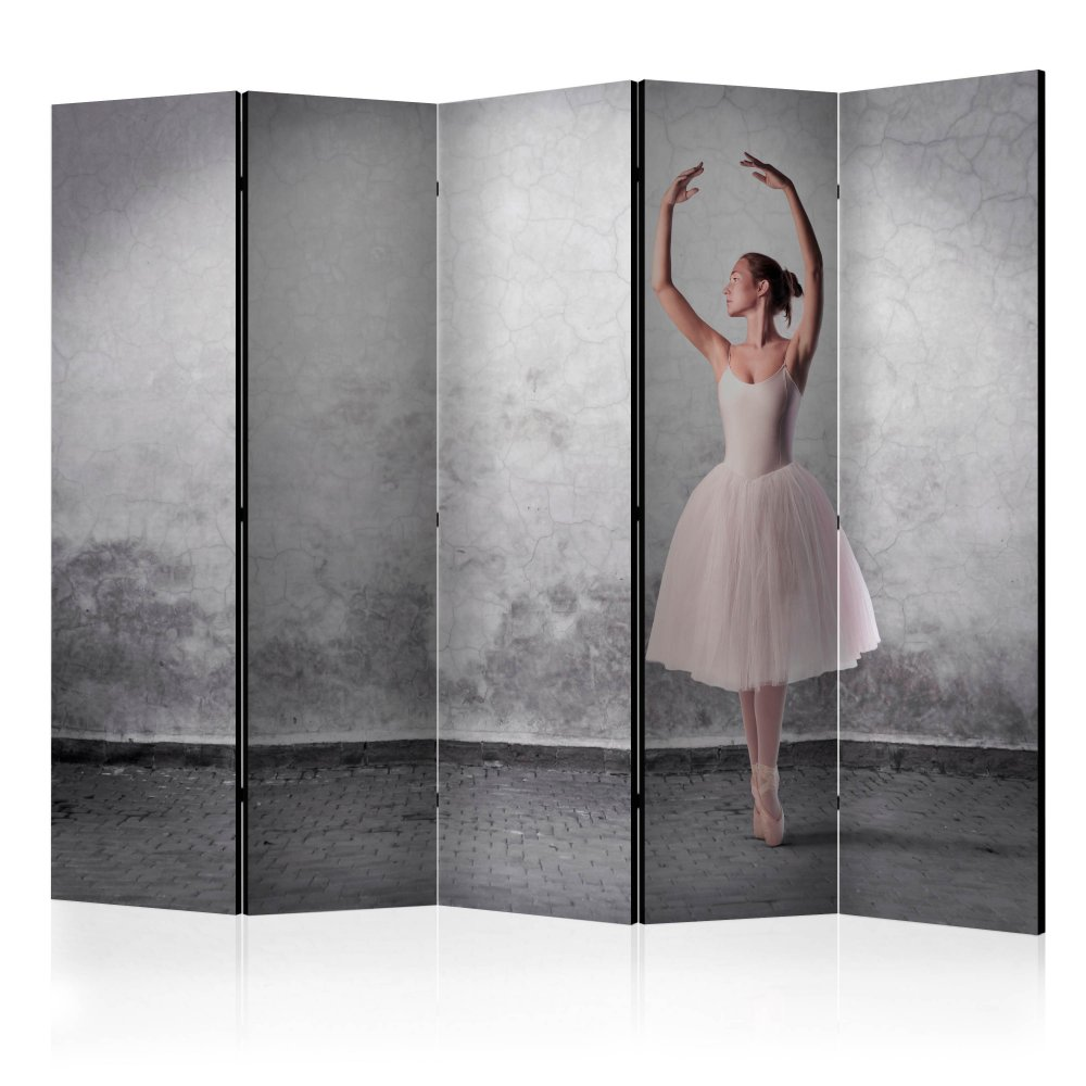 Paraván Ballerina in Degas paintings style Dekorhome 225x172 cm (5-dílný)