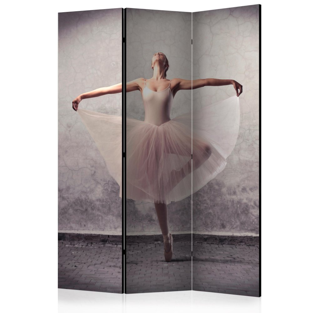 Paraván Classical dance - poetry without words Dekorhome 135x172 cm (3-dílný)