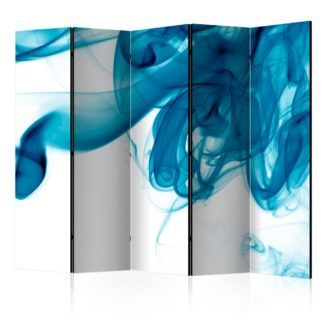Paraván Blue smoke Dekorhome 225x172 cm (5-dílný)