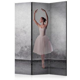 Paraván Ballerina in Degas paintings style Dekorhome 135x172 cm (3-dílný)
