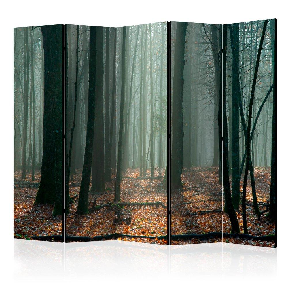 Paraván Witches' forest Dekorhome 225x172 cm (5-dílný)