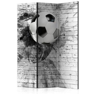 Paraván Dynamic Football Dekorhome 135x172 cm (3-dílný)