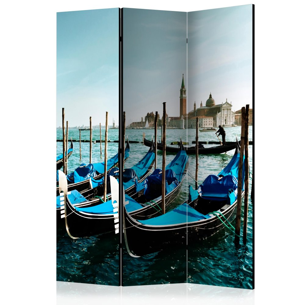 Paraván Gondolas on the Grand Canal Venice Dekorhome 135x172 cm (3-dílný)