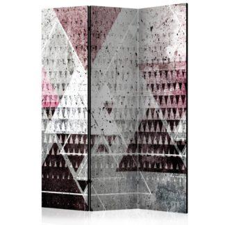 Paraván Triangles Dekorhome 135x172 cm (3-dílný)