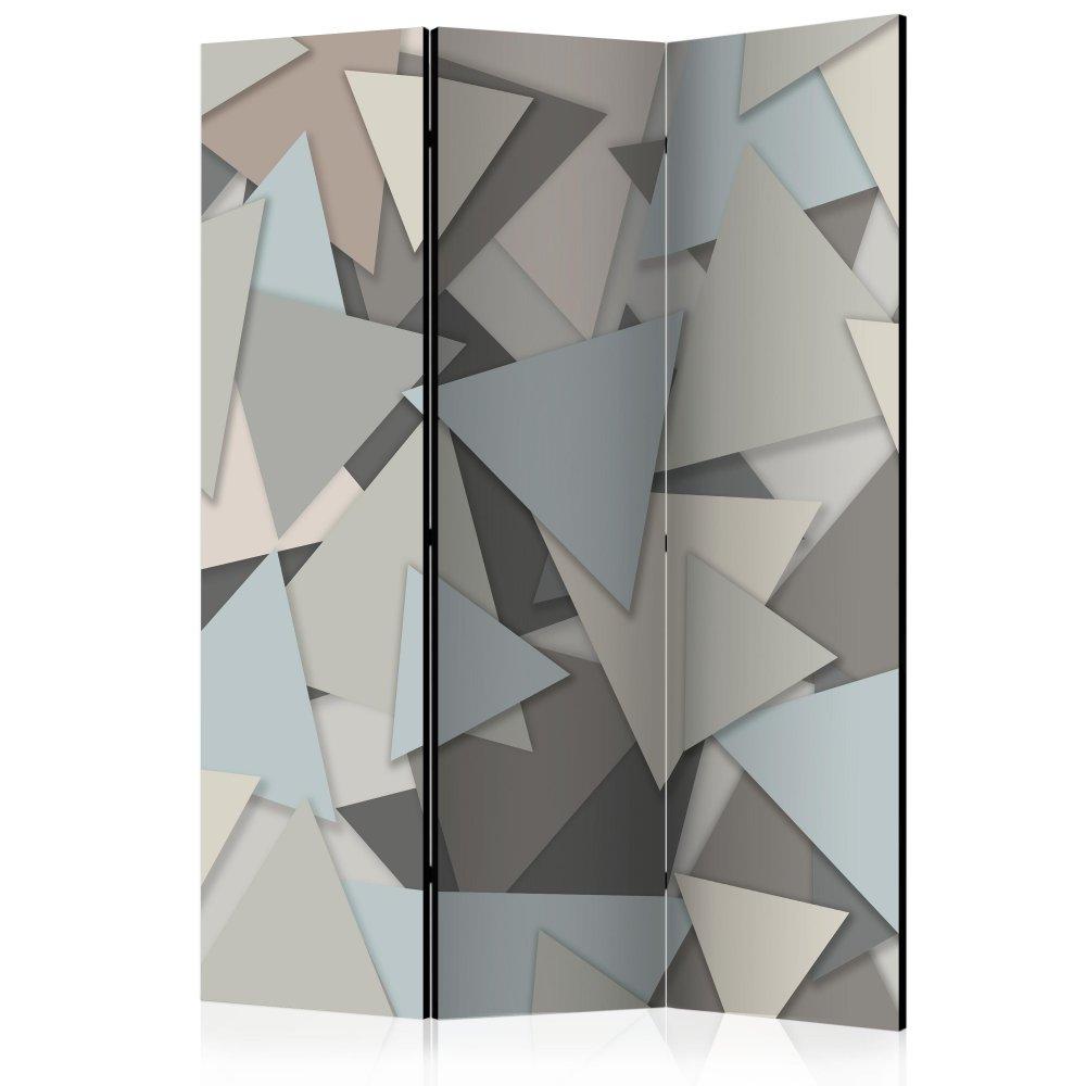 Paraván Geometric Puzzle Dekorhome 135x172 cm (3-dílný)