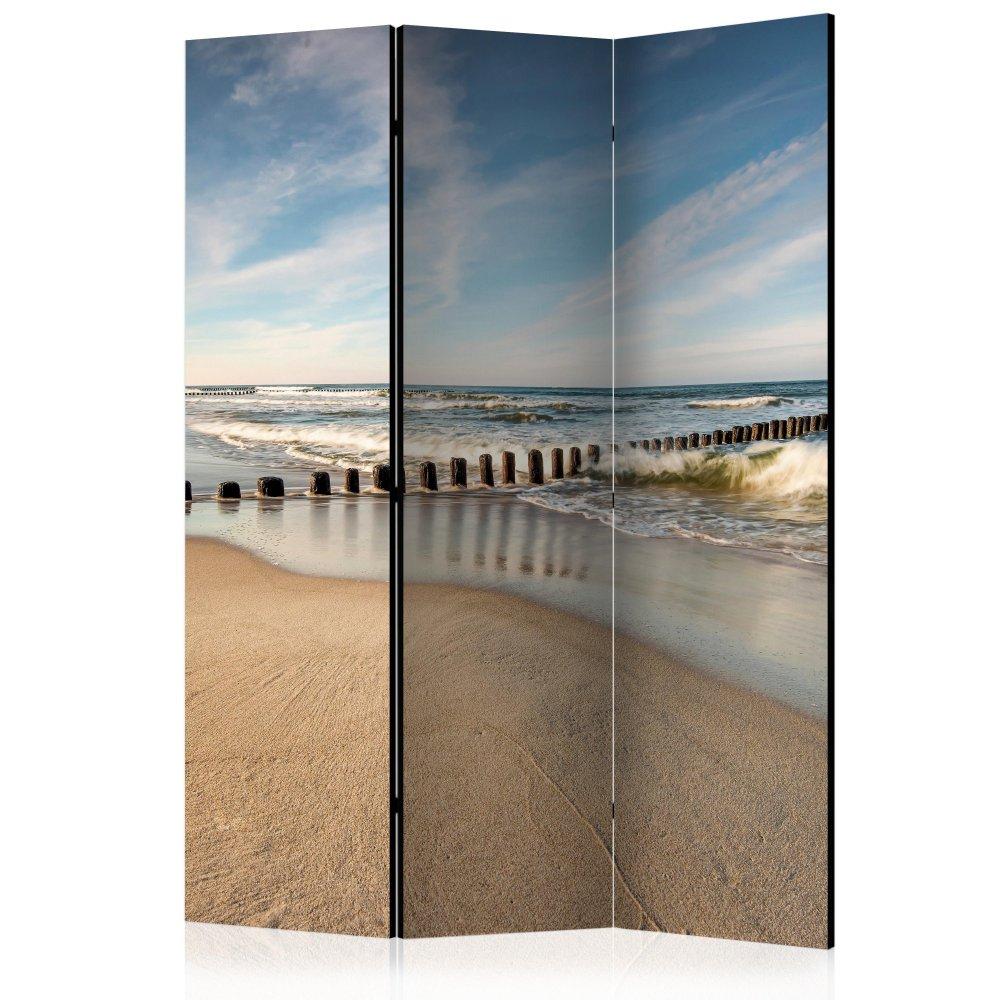 Paraván Sea Breeze Dekorhome 135x172 cm (3-dílný)