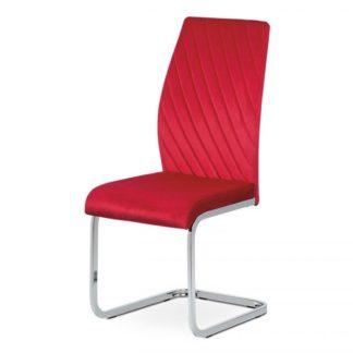 Jídelní židle DCL-442 Autronic Červená
