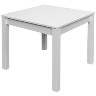 Jídelní stůl David 80x80 cm, bílý