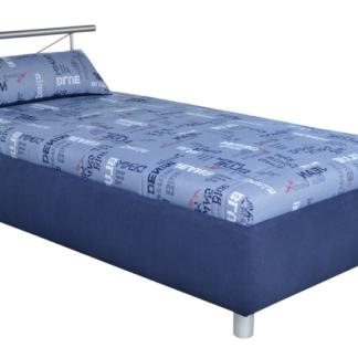 Postel Caribic 110x200 cm, modrá