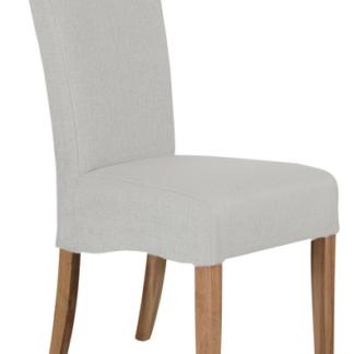 Jídelní židle Roberta, béžová látka